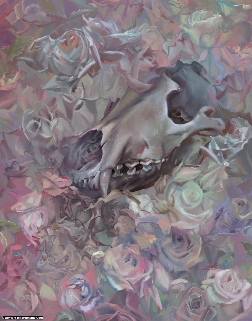 Lead White Artwork by Stephanie Cost