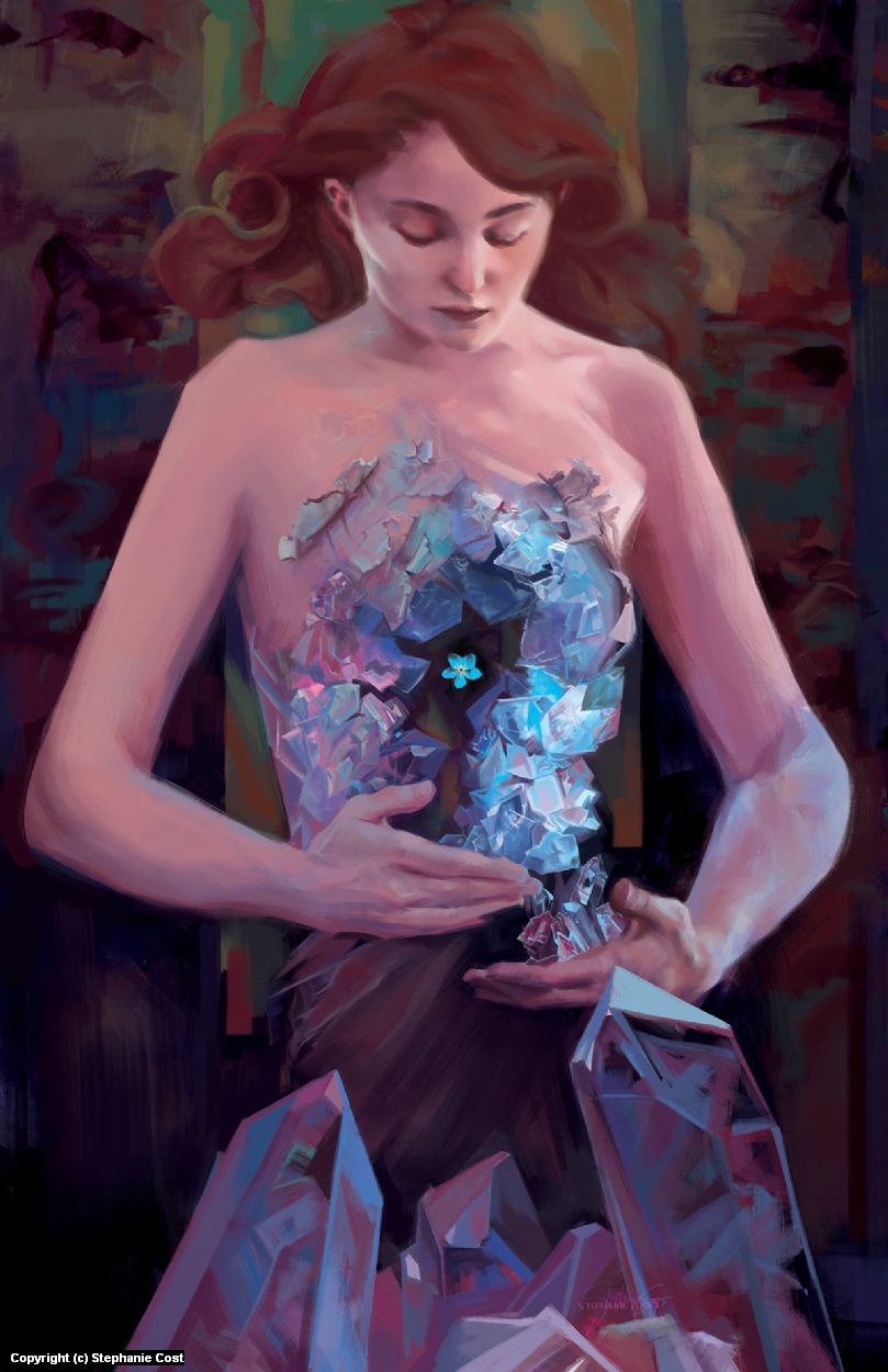 Forget-Me-Not Artwork by Stephanie Cost