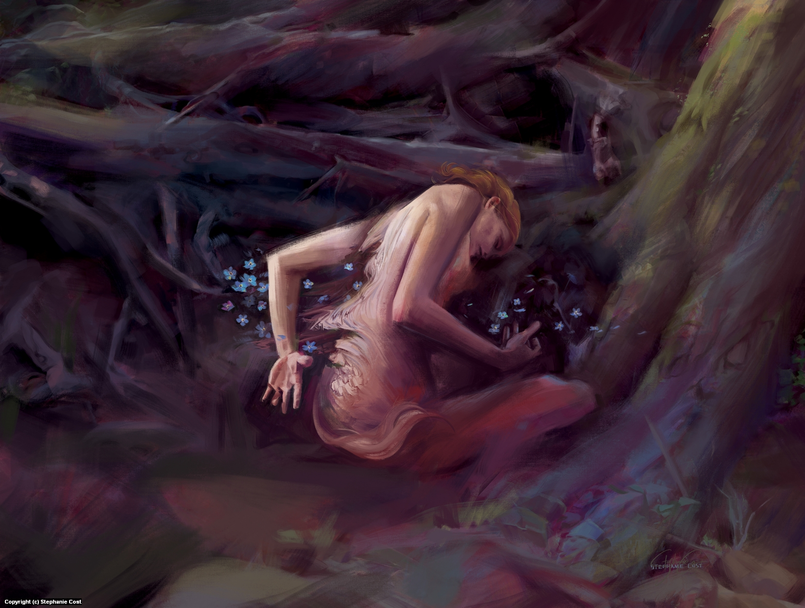 Coming Apart Artwork by Stephanie Cost