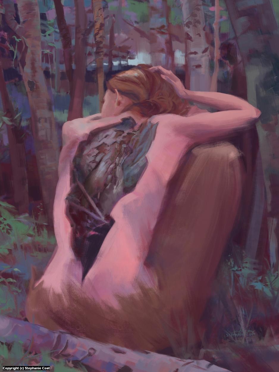 Weep Artwork by Stephanie Cost