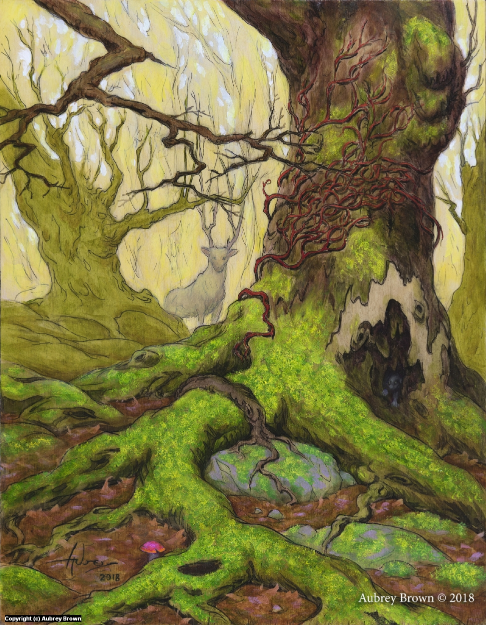 Root and Branch Artwork by Aubrey Brown