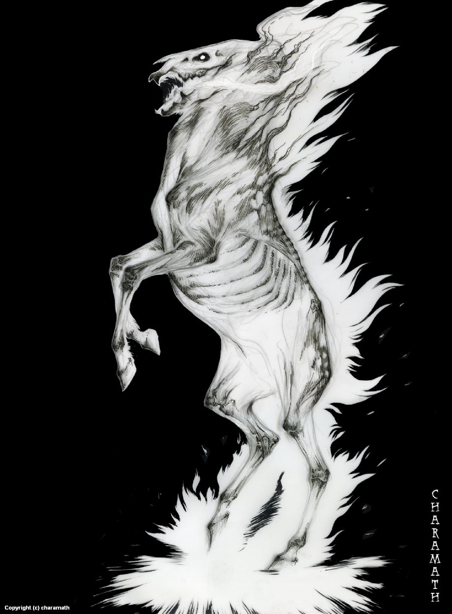 Ink Nightmare Artwork by Audre Schutte