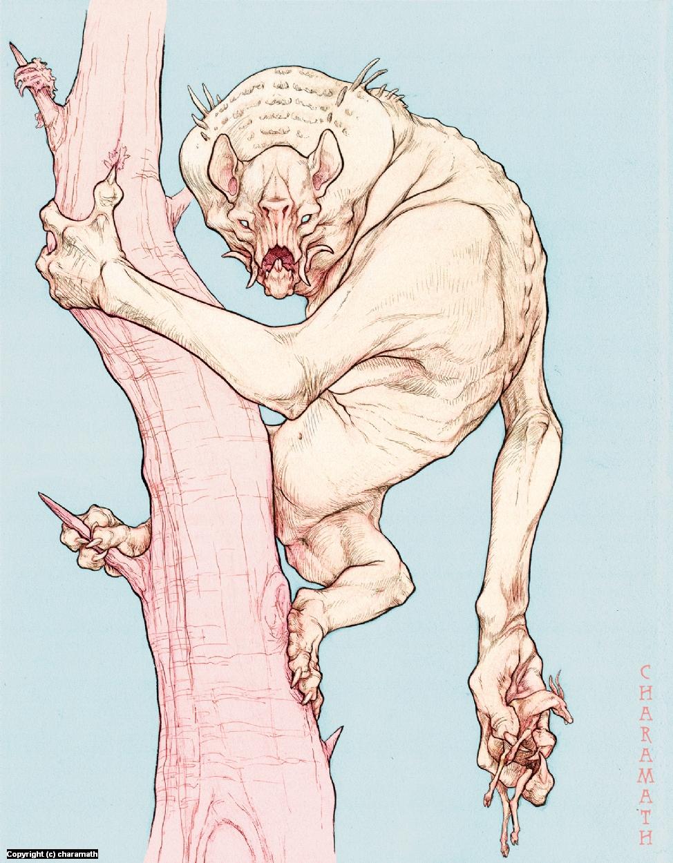Tree Howler Artwork by Audre Schutte