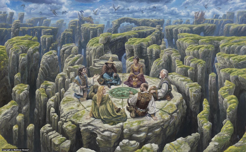 The Wizards of Urth Artwork by Matthew Stewart