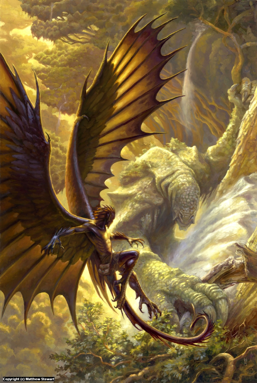 Stories of the Raksura Volume 2: The Swampling Artwork by Matthew Stewart