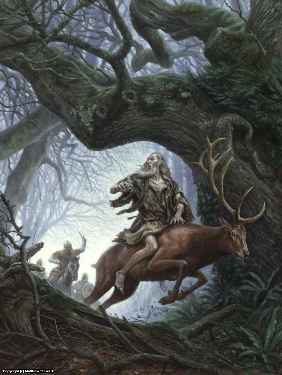 Merlin's Trials Artwork by Matthew Stewart