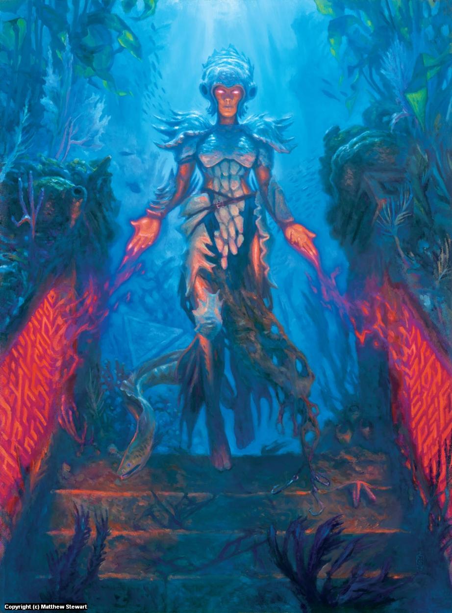 Jori En, Ruin Diver Artwork by Matthew Stewart