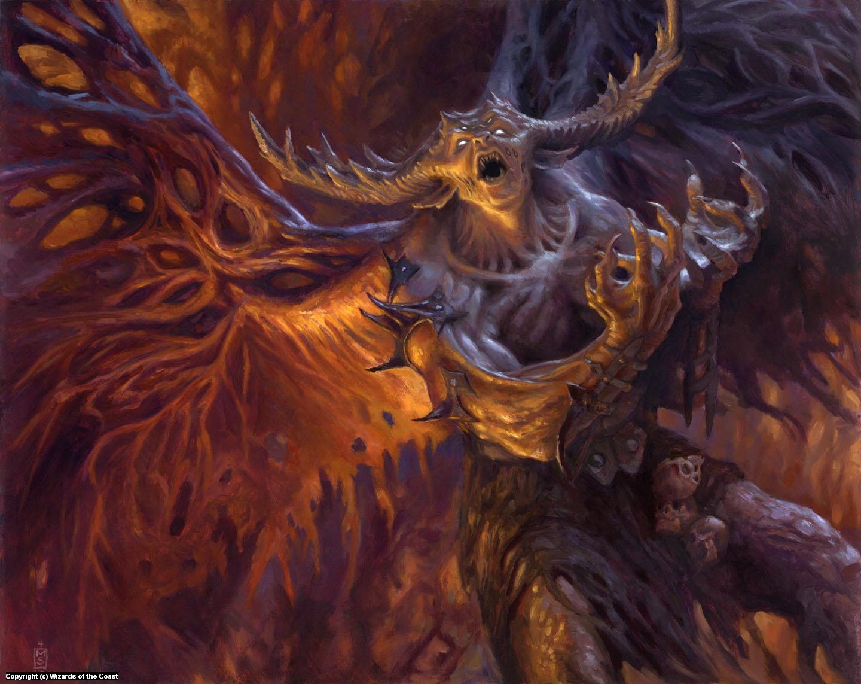 Mindwrack Demon Artwork by Matthew Stewart