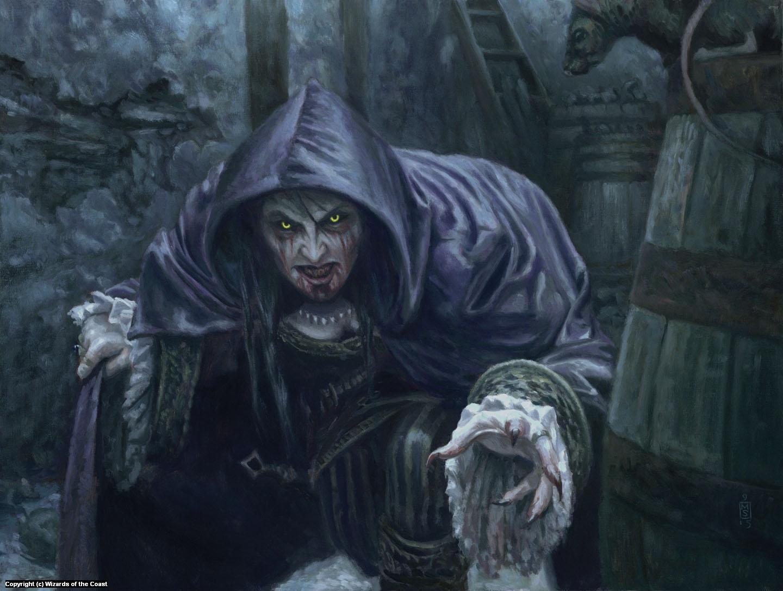 Vampire Cutthroat Artwork by Matthew Stewart