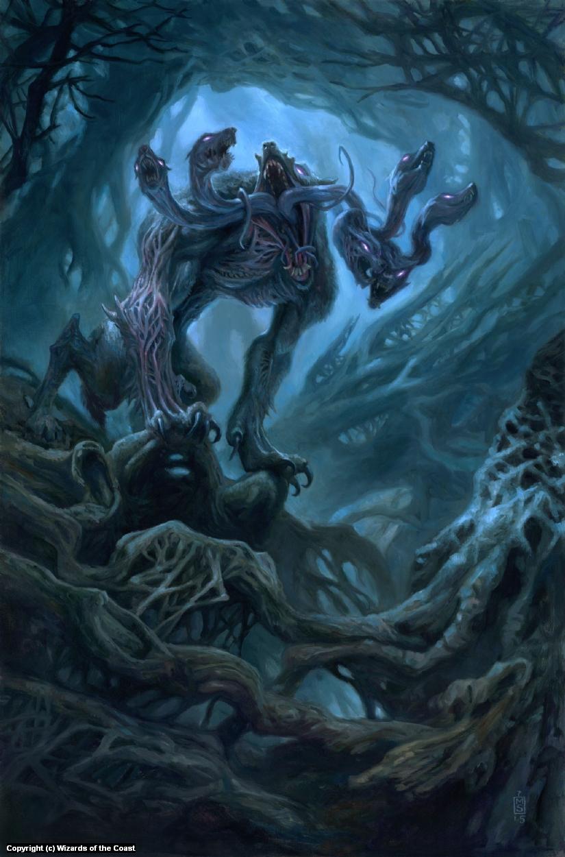 Howling Chorus Artwork by Matthew Stewart