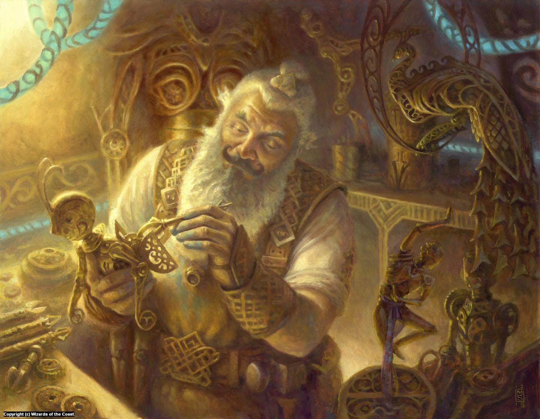 Master Trinketeer Artwork by Matthew Stewart
