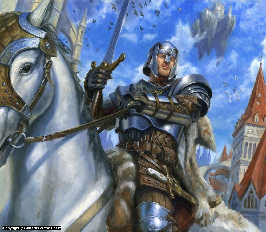Knight of Ravnica Artwork by Matthew Stewart