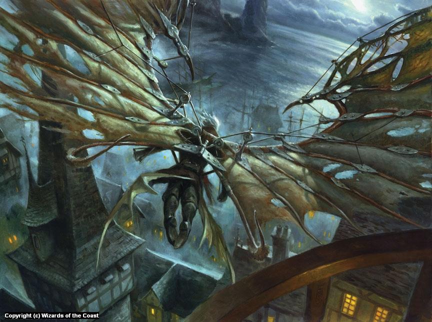 Cobbled Wings Artwork by Matthew Stewart