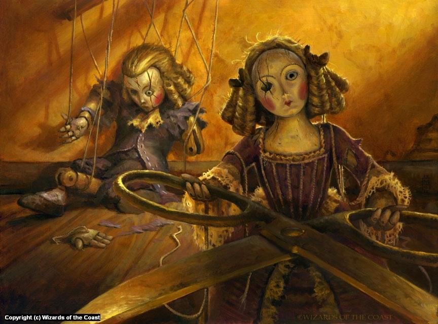 Creepy Doll Artwork by Matthew Stewart