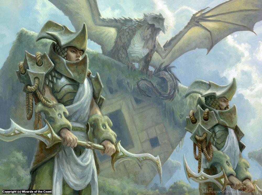 Scaleguard Sentinels Artwork by Matthew Stewart
