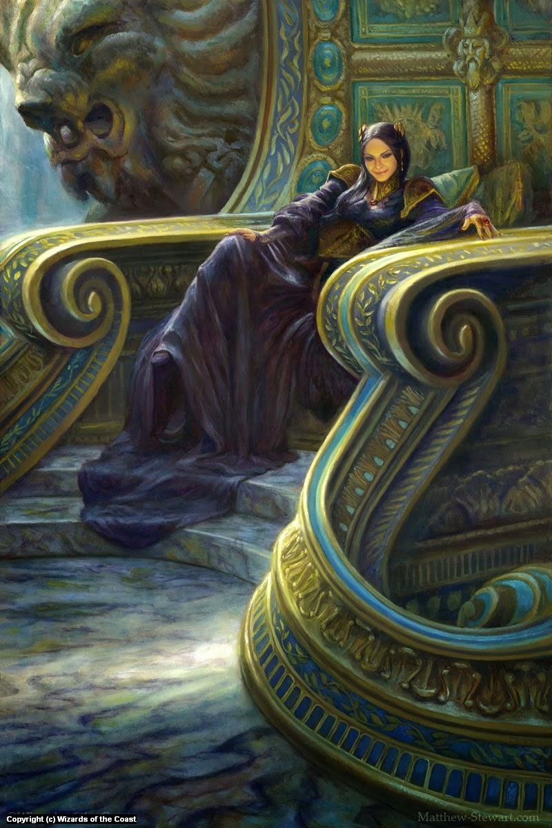 Marchesa Enthroned (a.k.a. Power Play) Artwork by Matthew Stewart