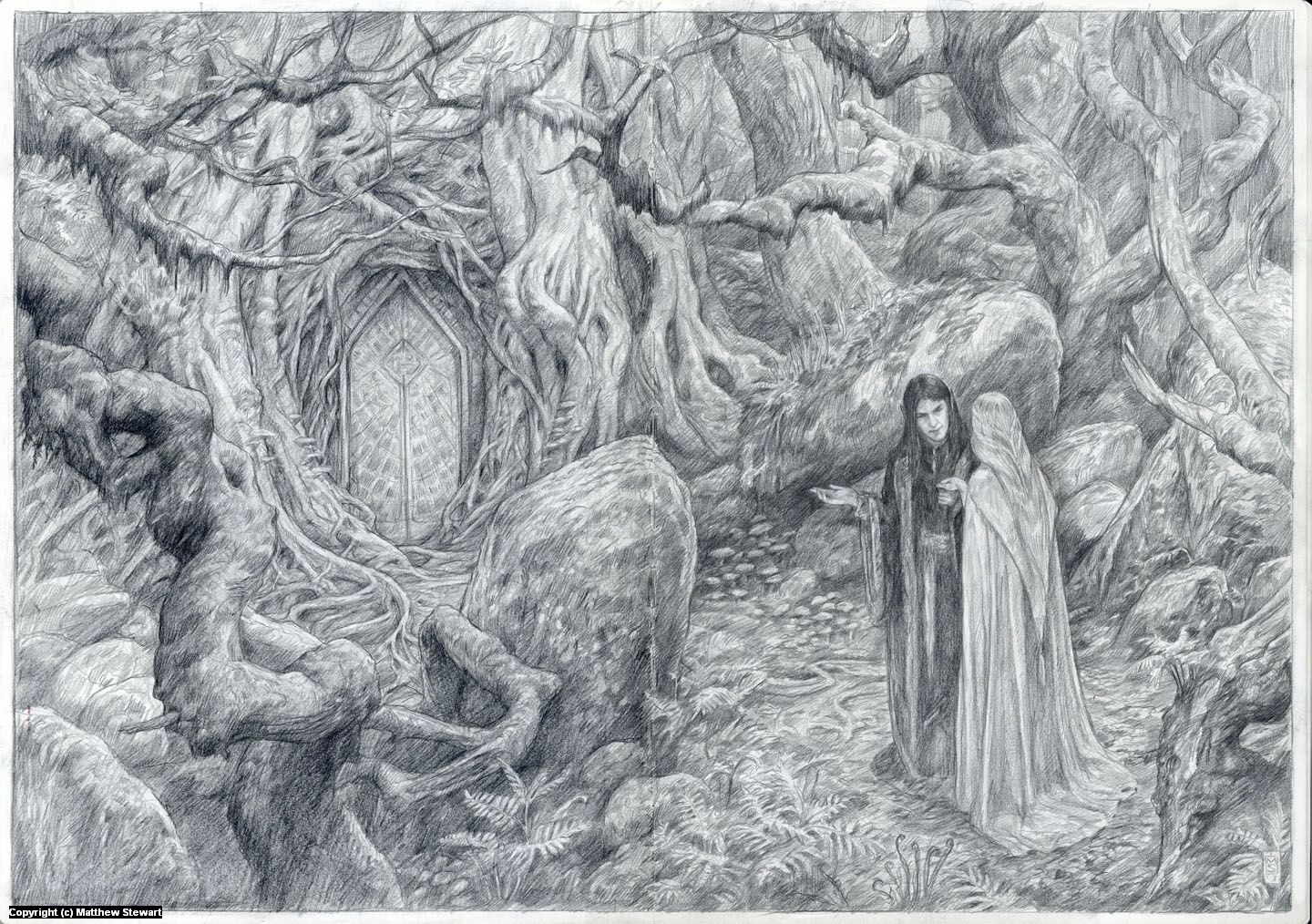 The Enchantment of Aredhel by Eol Artwork by Matthew Stewart
