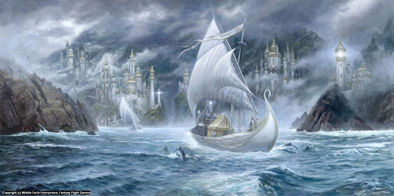 The Grey Havens Artwork by Matthew Stewart