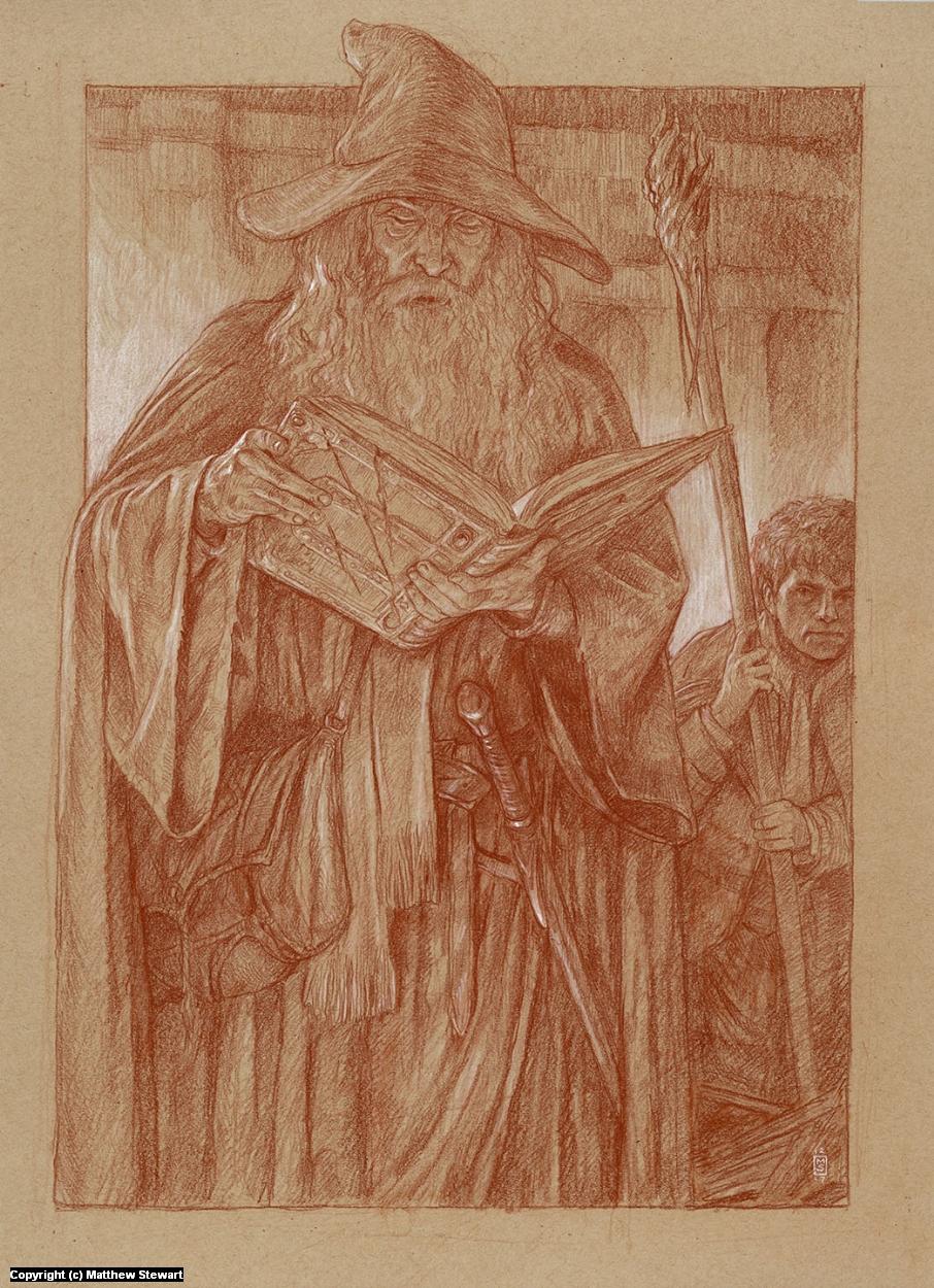 The Book of Mazurbul Artwork by Matthew Stewart