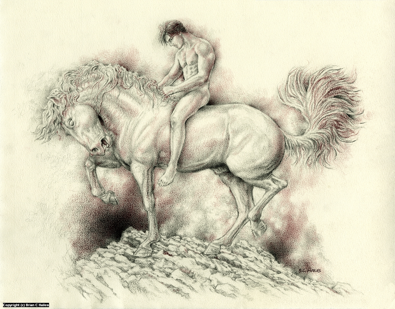 Gentleman of Adversity Artwork by Brian C Hailes
