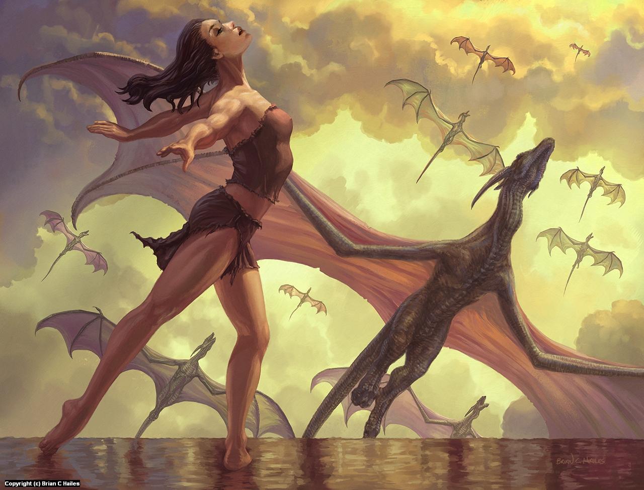 Dragon Dance Artwork by Brian C. Hailes