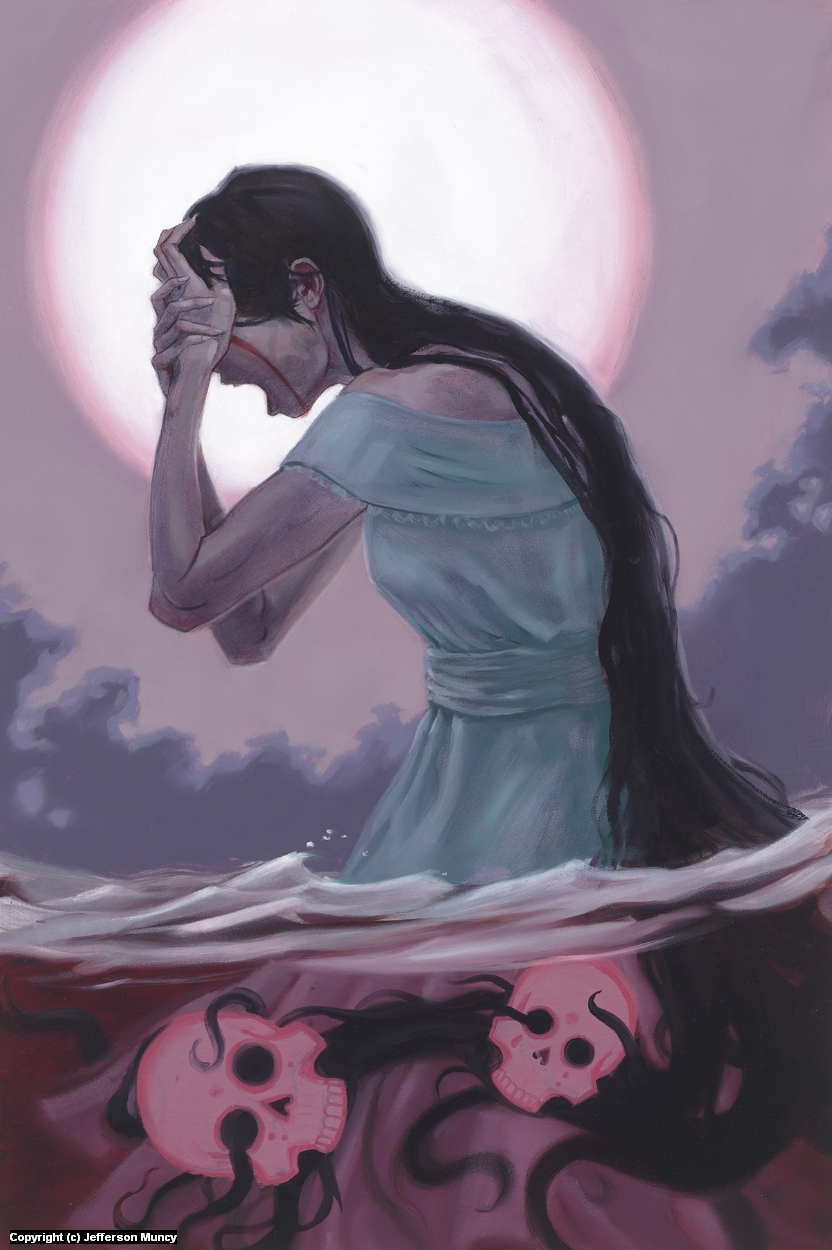 La Llorona Artwork by Jefferson Muncy