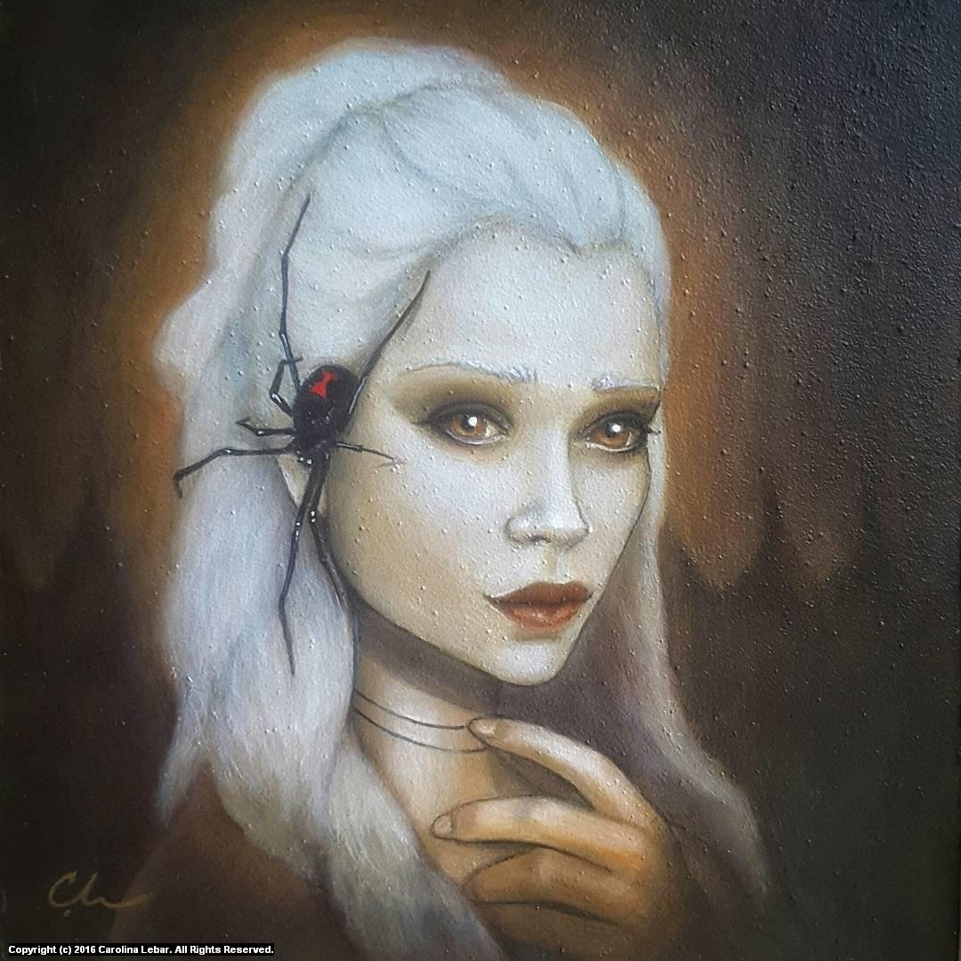 Whispers Artwork by Carolina Lebar