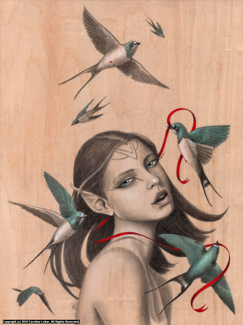 Caught Artwork by Carolina Lebar
