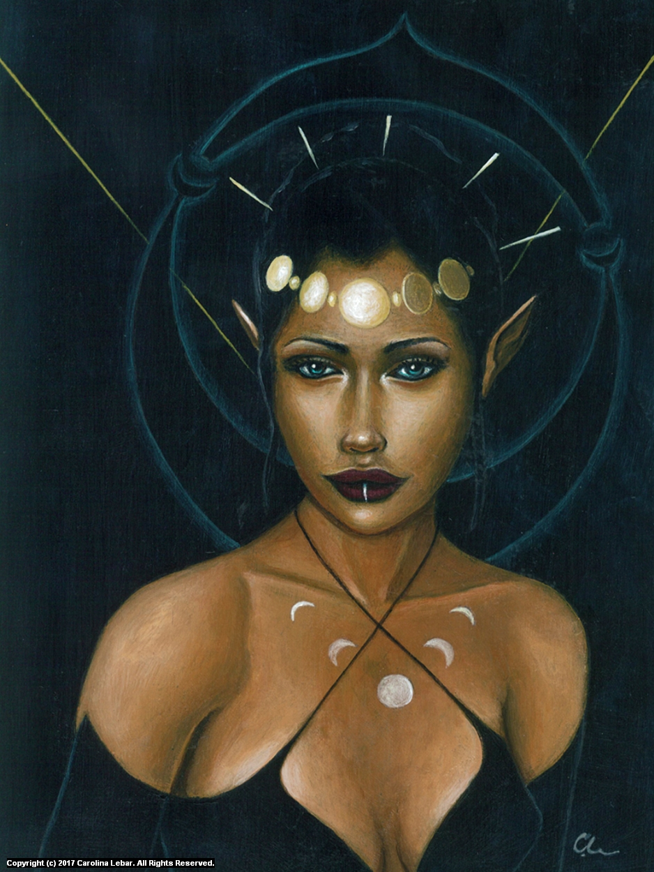 Celeste Artwork by Carolina Lebar
