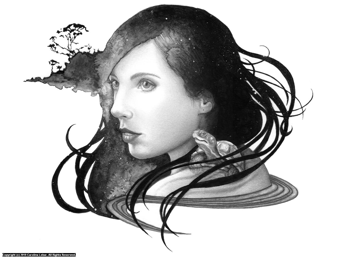 Gaia Artwork by Carolina Lebar