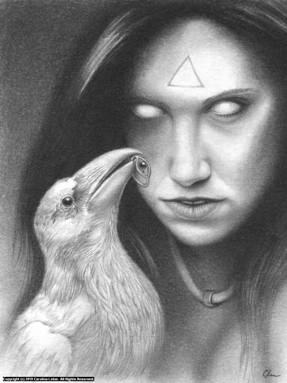 The Beholder Artwork by Carolina Lebar
