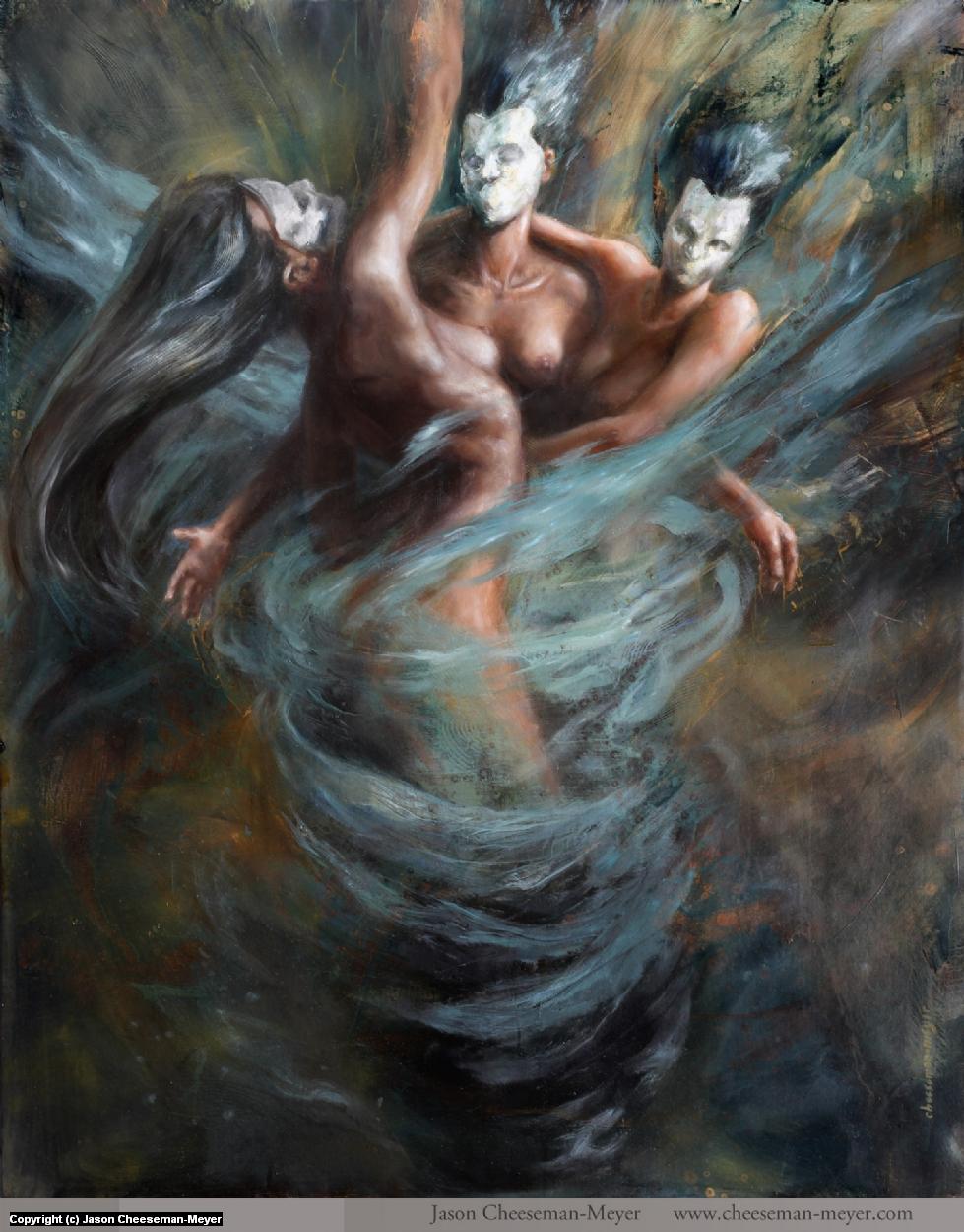 Triumvirate Replicating Artwork by Jason Cheeseman-Meyer