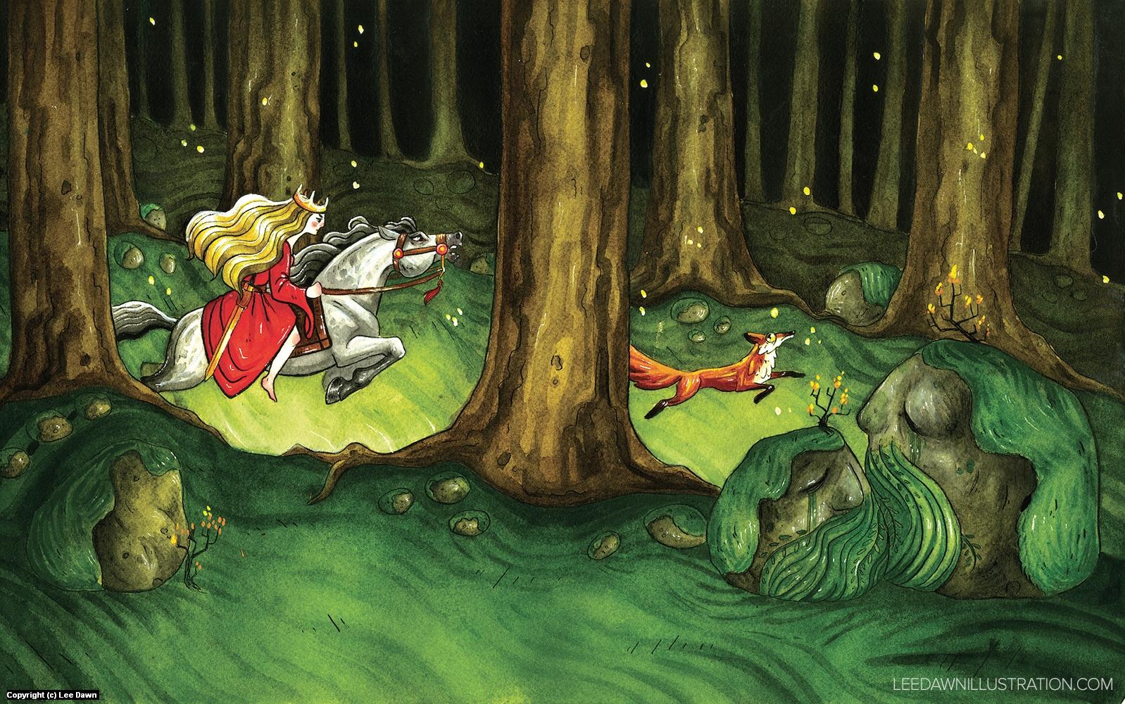 The Cruel Princess Artwork by Lee Dawn
