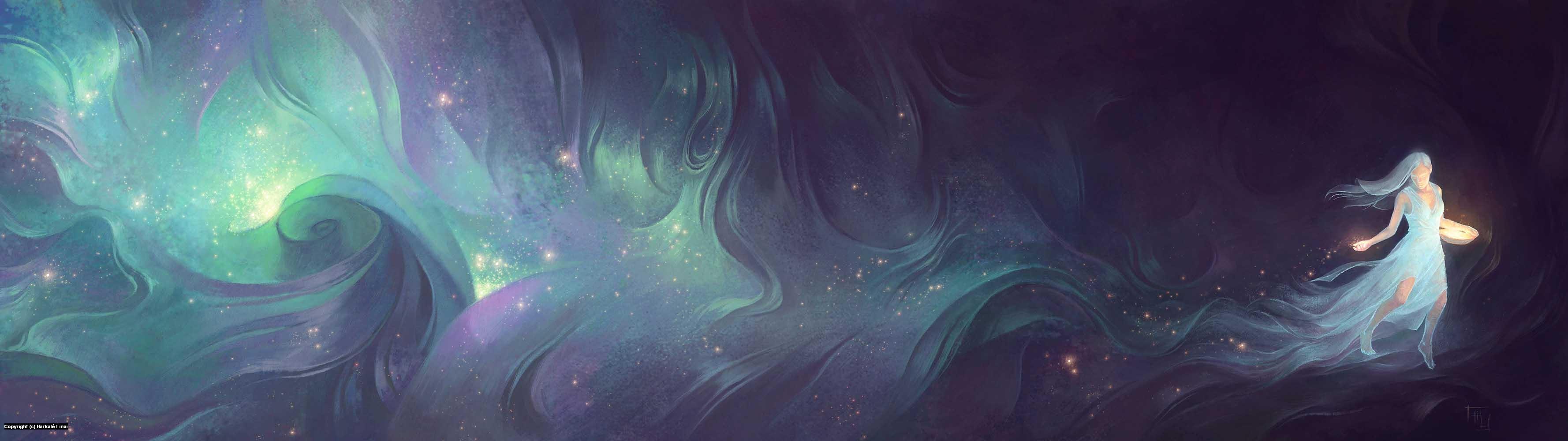 The Star Sower Artwork by Harkalé Linaï