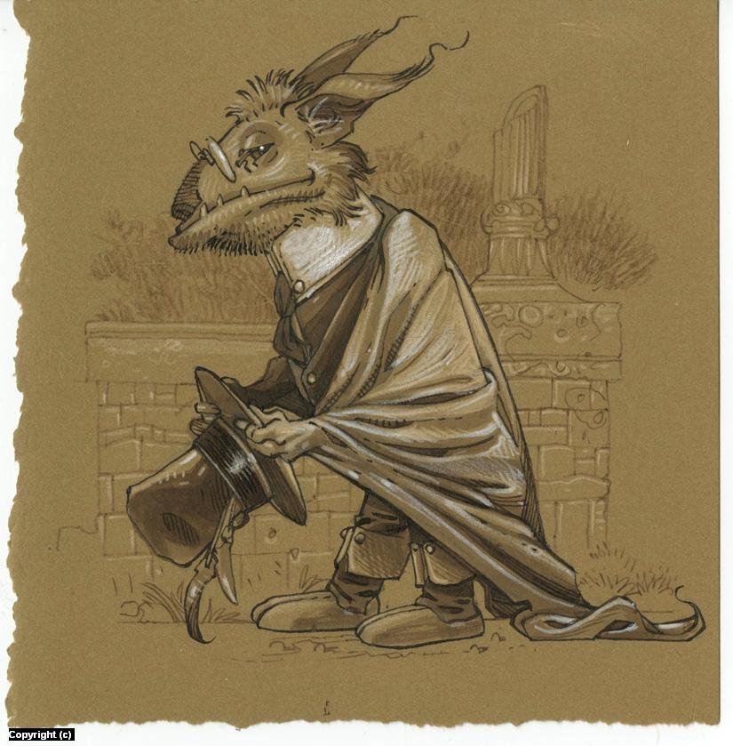 Victorian Bat Artwork by Mark Nelson