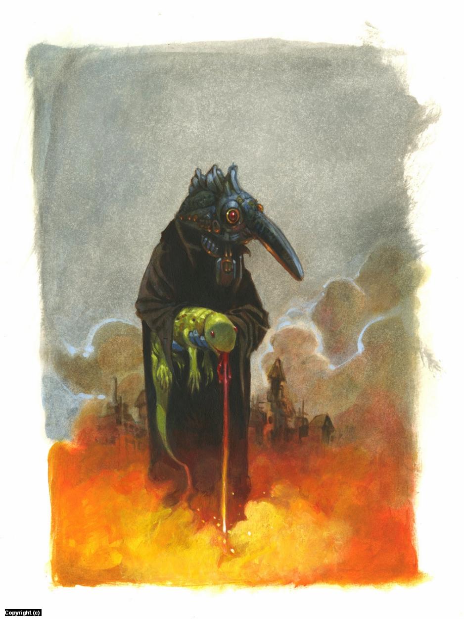 Fire Below Artwork by Mark Nelson