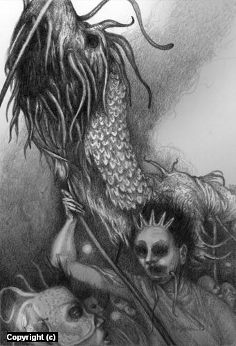 Sea of Flesh Artwork by Erin Wells