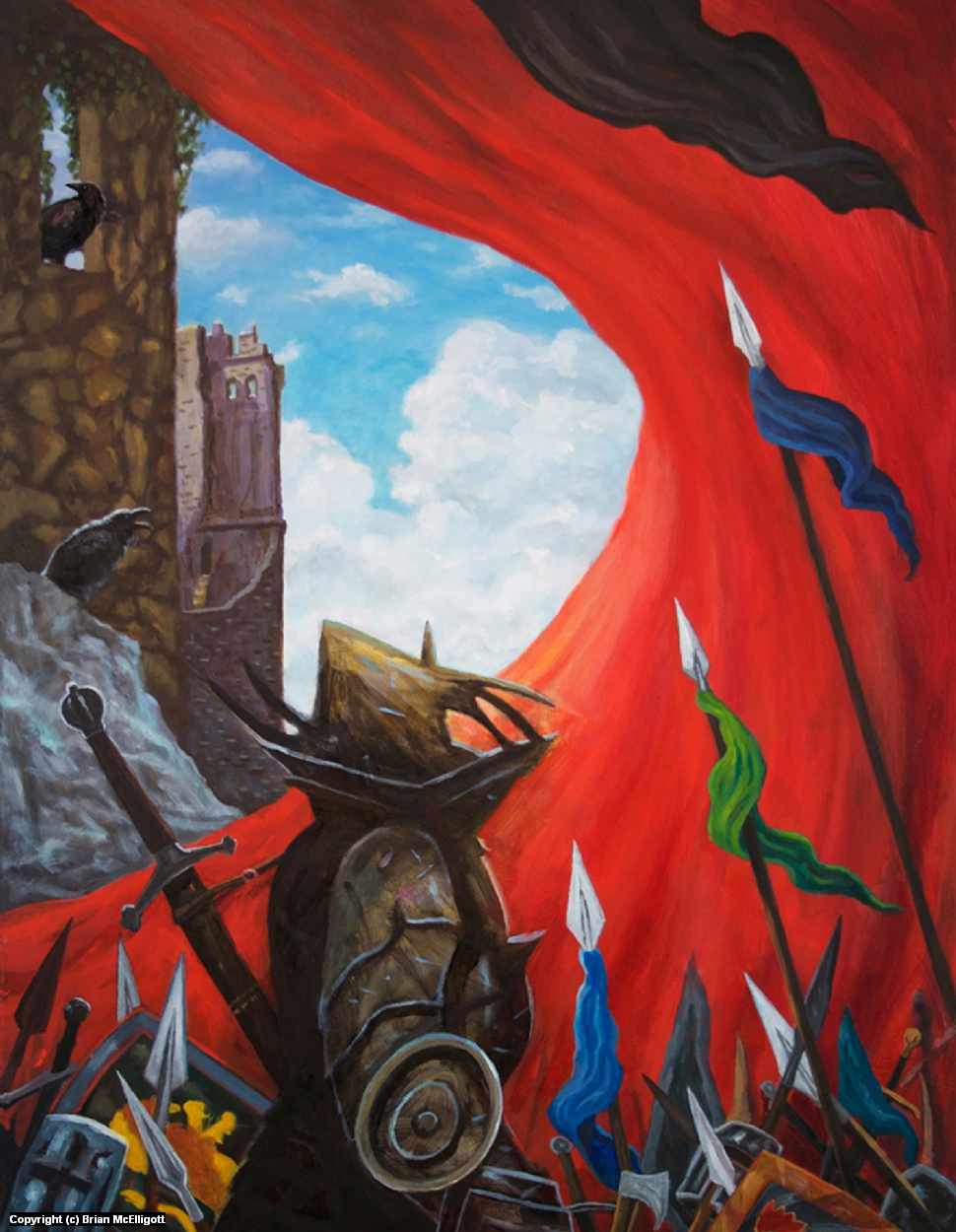 The Black Knight Artwork by Brian McElligott