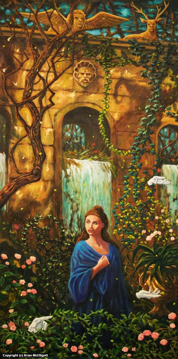 La Belle et la Bete Artwork by Brian McElligott