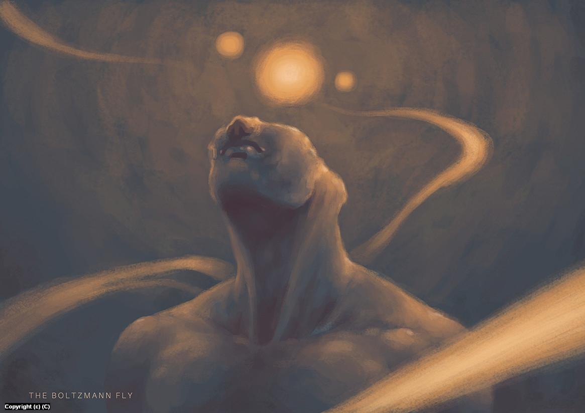An Iridescent Mind  Artwork by Jesus Contreras
