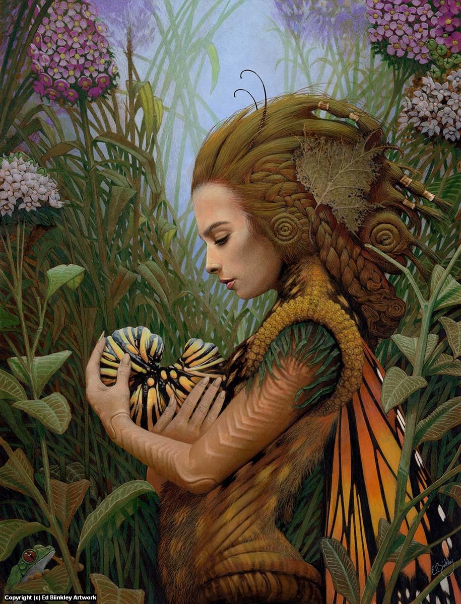 Monarch  Artwork by Ed Binkley
