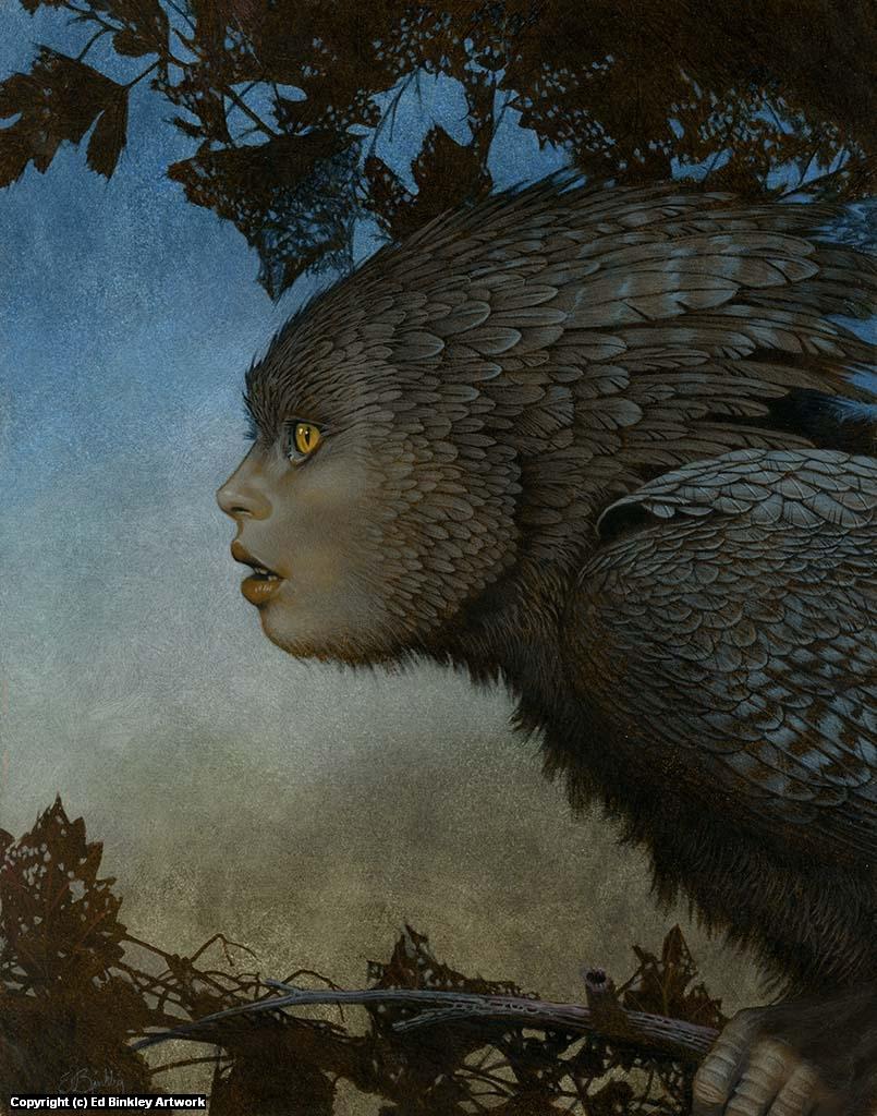 Twilight Faery  Artwork by Ed Binkley