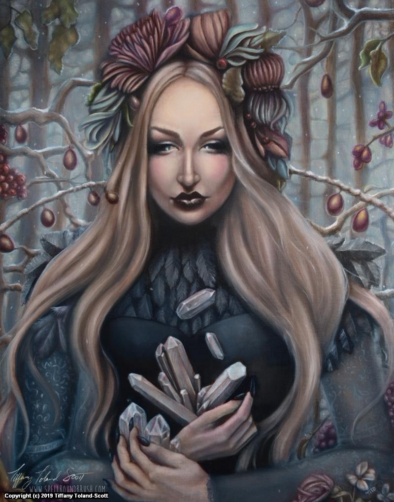 Gems of Winter Artwork by Tiffany Toland-Scott
