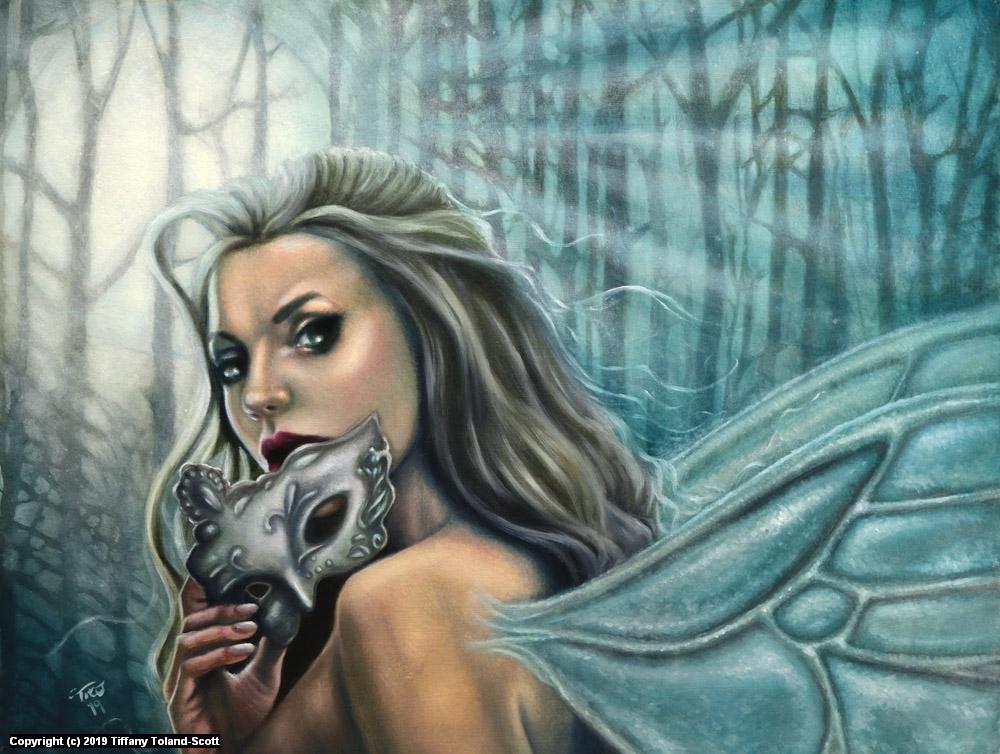 Mask of Midnight Artwork by Tiffany Toland-Scott