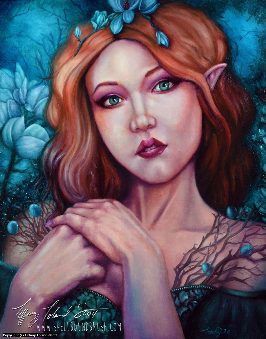 Gems of Spring Artwork by Tiffany Toland-Scott