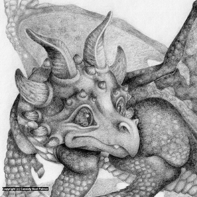 Heliotrope - Dragonlings Series Artwork by Cassidy Noel Palmer