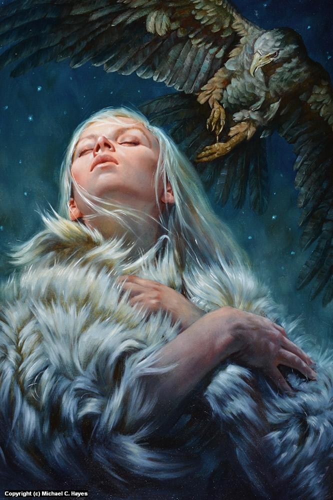 Wildling  Artwork by Michael C. Hayes