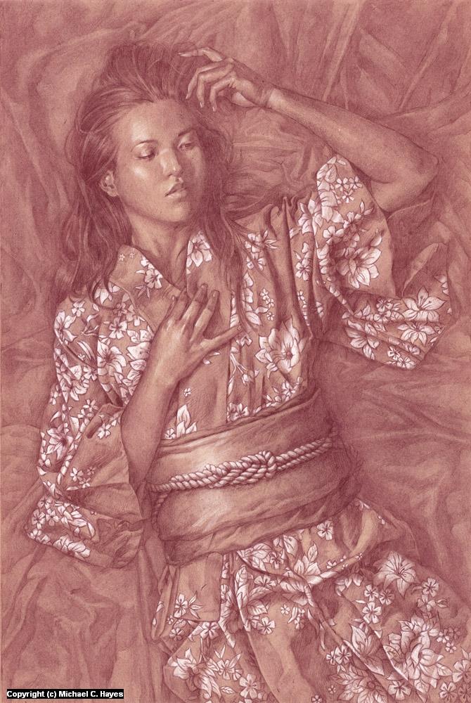 Kimono Artwork by Michael C. Hayes