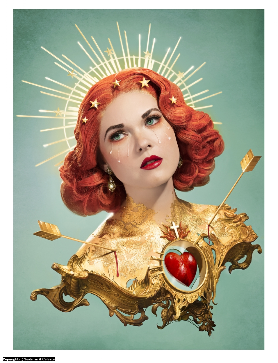 Everlasting Heartache Artwork by Celeste Giuliano