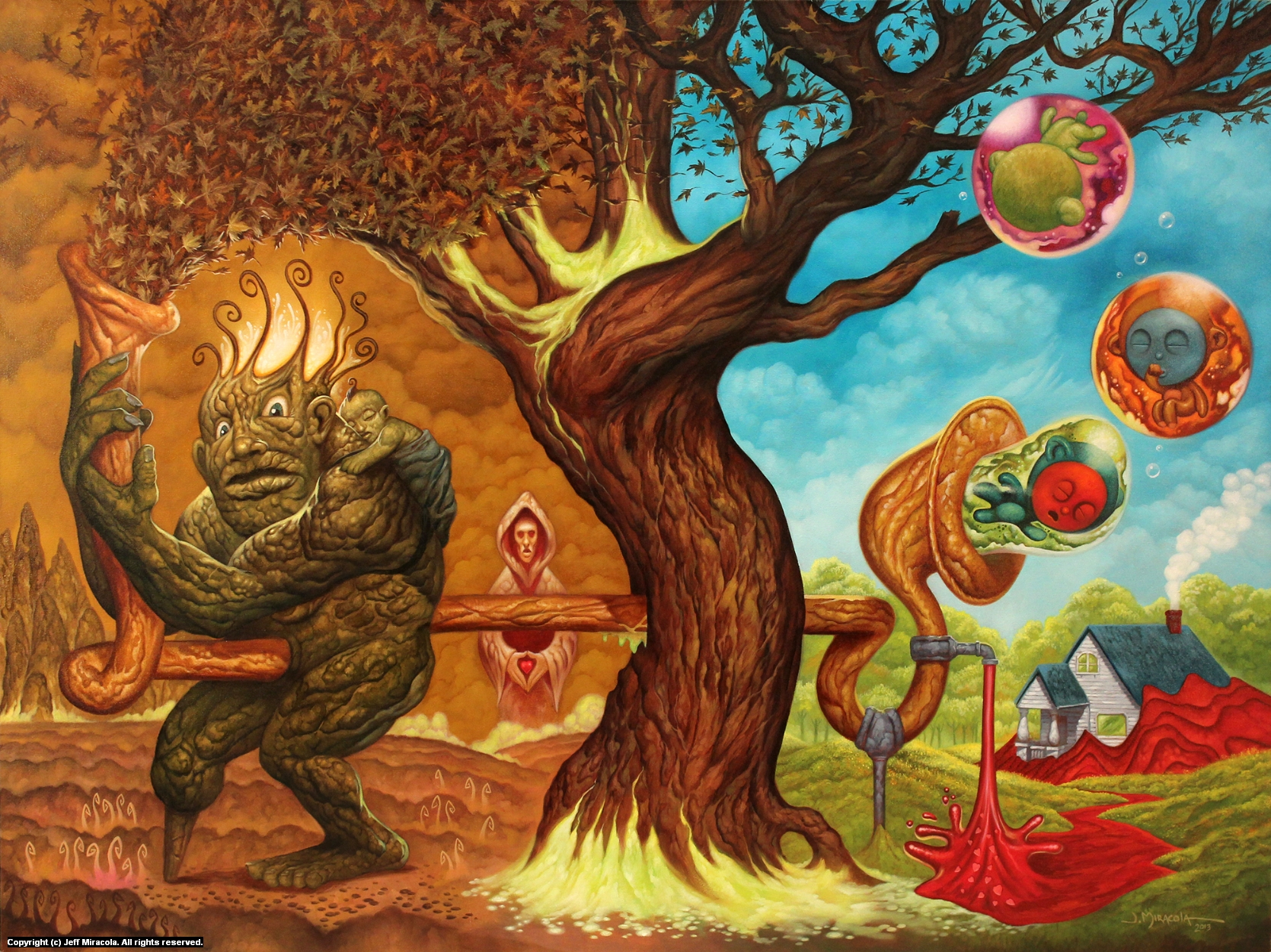 Tree of Life Artwork by Jeff Miracola